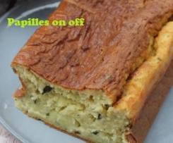 Cake aux courgettes et aux carrés frais