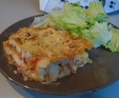 Lasagnes Jambon - Raclette & Piperade