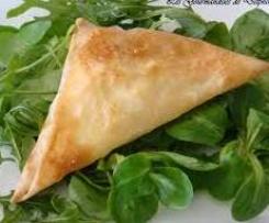 Samoussas dinde légumes comté
