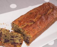 Cake aux carottes violettes