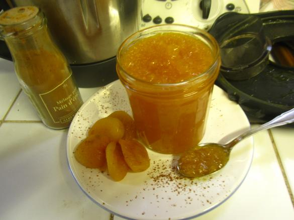 confiture abricot orange thermomix