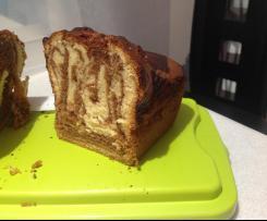 Cake marbré au bonbons Michoko