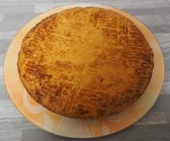 Variante de  gateau basque à la crème pâtissière