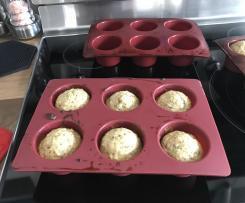 Variante MUFFINS BANANE-dattes et flocons d'avoine