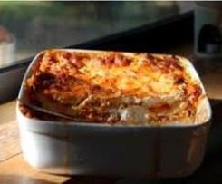 Lasagnes aux 5 fromages