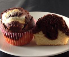Muffins façon marbré