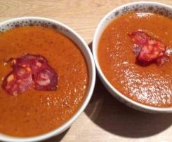 Velouté Haricot rouge - Chorizo / tabasco