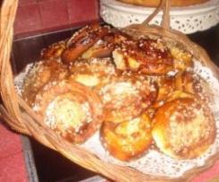 Petits pains suédois citronnés à la cannelle de josy de lyon