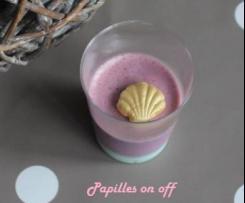 Pana cotta tagada/vanille – Sweet Table Anniversaire Sirène