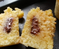Fondant coco et choco sans gluten