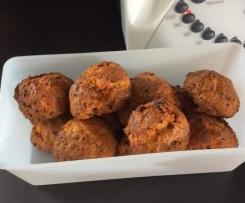Cookies chorizo moutarde à l ancienne et gruyère