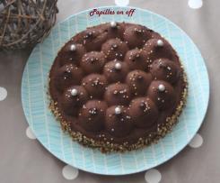 Entremets au chocolat et nutella