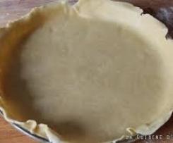 Pâte brisée sucrée sans gluten sans lait sans oeuf