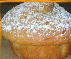 Muffins à la banane et au gingembre