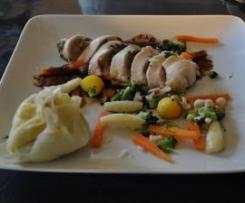 Suprême de poulet aux saveurs de Bourgogne