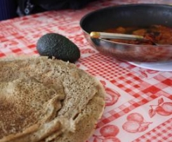 Injera (galette ethiopienne)