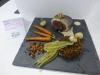 Truite sauce Vercors risotto à l'épeautre et ses petits légumes