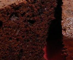 Moelleux au chocolat allégé au lait concentré non sucré