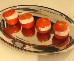 Tomate farcie thon fromage blanc