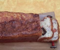cake lardons ou saumon fumé