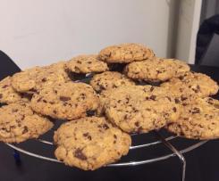 Cookies moelleux aux pépites de chocolat et noix de pécan