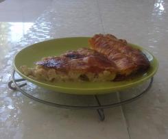 Tourte de poulet au Comté