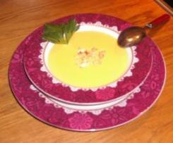 Crème de Légumes au Bleu d'Auvergne