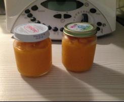 Purée carottes/pommes de terre/poulet pour bébé de 6 mois