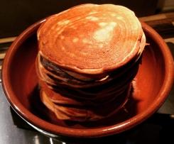 Pancakes Express au Nutella ou pâte à tarine