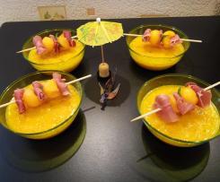 Gaspacho melon , vite fait