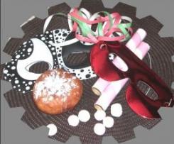 Gros beignets viennois garnis (Carnaval)