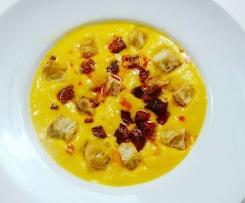soupe carotte oignons chorizo