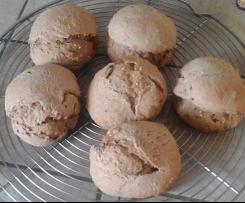 Petits pains complet aux graines