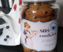cookies noix de coco,pépites de chocolat SUPER CROUSTILLANTS
