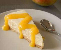 Cheesecake mangue citron vert