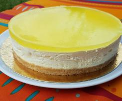 Cheesecake miroir citron