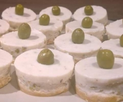 Cheesecake aux olives