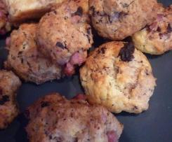 cookies lardons-olives-comté
