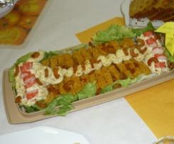 Cake d'été aux sons, Carotte, Orange, Amande & Coriandre - Agenc