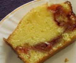 Gâteau coeur confiture