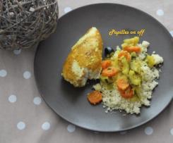 Couscous de poulet massala