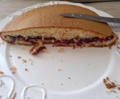 Gâteau léger et rapide à la confiture