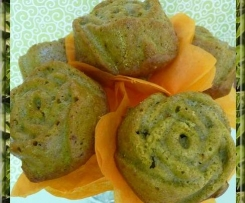 Bouquet de cakes vert Matcha