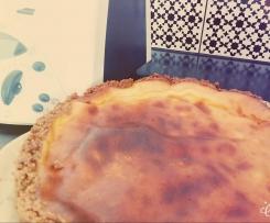 Gâteau au fromage blanc inratable adapté de Marmiton