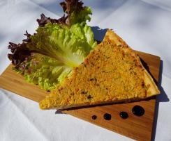 Tarte aux légumes et fromage frais