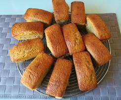 Minis cakes aux pruneaux et à la farine d'épautre