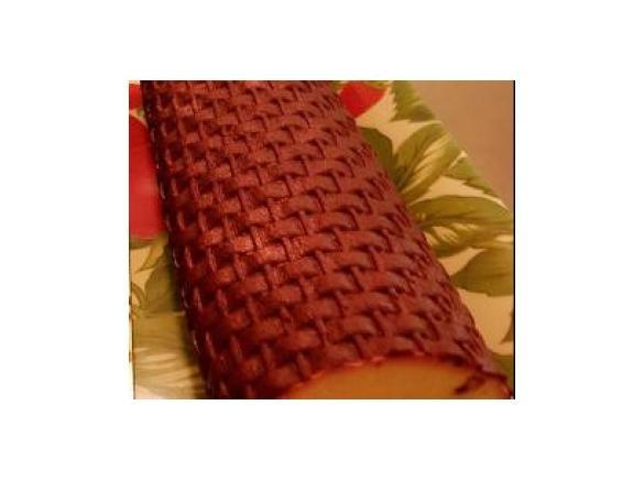 Buche fruit rouge