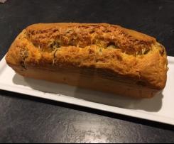 Cake aux olives rapide et moelleux