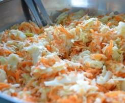 Variante de Salade Coleslaw au surimi