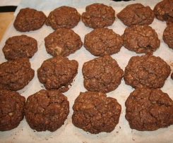 cookies moelleux tout chocolat
